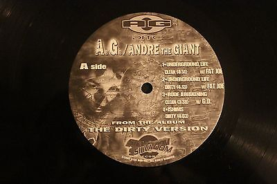 AG The Dirty Version album sampler 12""