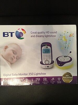 Digital Baby Monitor 350 Lightshow From BT RRP £69.99