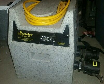 Injectidry HP60 Blower ( Base only) for parts or repair. No reserve