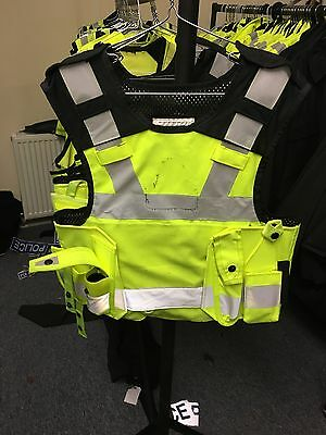 Ex Police Body Armour /Tac Vest Combined. COVER ONLY male Medium Short