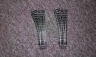 Hornby left hand points x 2 R8072