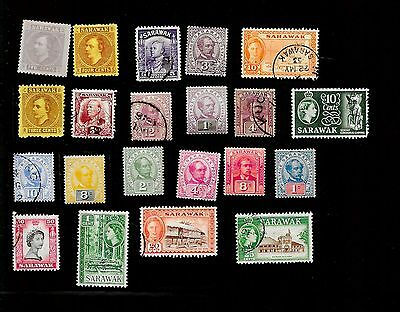 Sarawak - Collection Of 21 Very Old Stamps - Nice