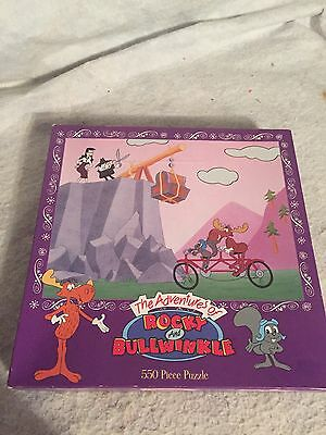 The Adventures of Rocky and Bullwinkle 550 Piece Puzzle (2326-1) NEW