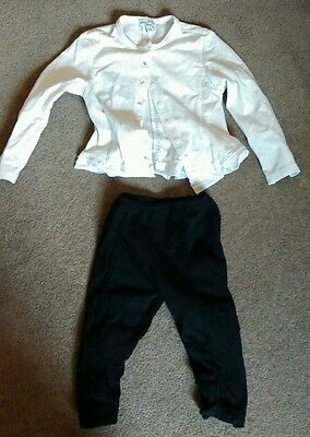Eliane et Lena trousers and blouse - size 2 years