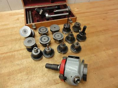 18+ HUGE Charmilles EDM Tooling Package Rotobore head Center Scope Collet Chuck