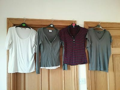 Bundle of ladies  tops t shirts 12 next, marks and Spencer