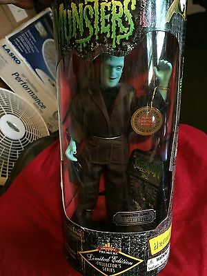 Herman Munster Vintage Action Figurine Doll - NEW in Box!
