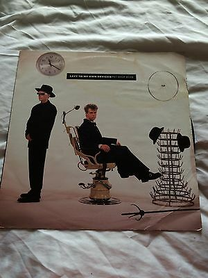 "Pet Shop Boys Left To My Own Devices 12""vinyl"