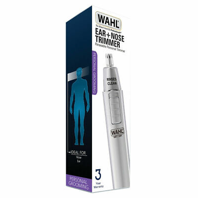New Wahl Nasal Trimmer 5560-917 Battery Operated For Ear, Eyebrow & Nose Hair