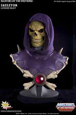 Masters Of The Universe Skeletor Life-Size Bust 1:1 / Pop Culture Shock
