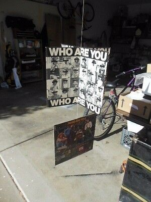 The Who Music Store Hanging Promotion