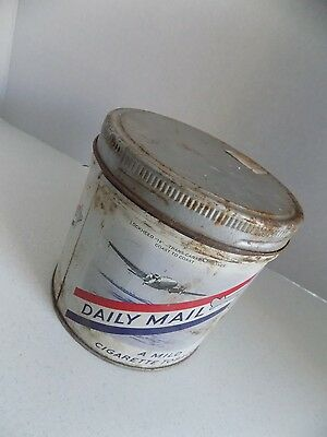 Vintage Tobacco Tin Daily Mail Made in Canada