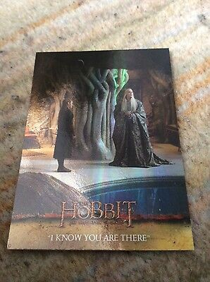 The hobbit desolation of Smaug base parallel n- 16 trading card