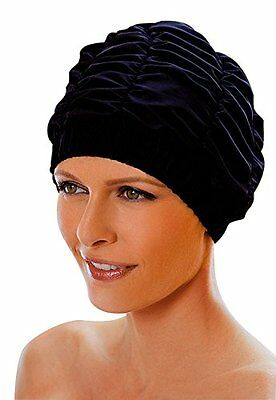 Ladies Black Shower Cap Fashy Traditional Style