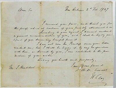 Henry Clay - Autograph Letter Signed