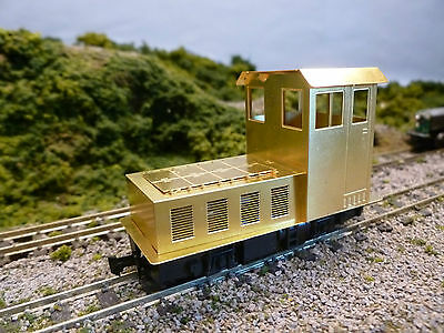009 Gauge Etched Brass Loco Body shell for The Kato 4 Wheel Tram Chassis Kit 77