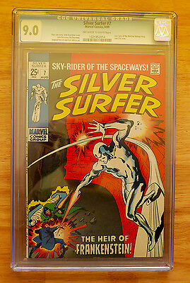 Silver Surfer # 7 CGC 9.0