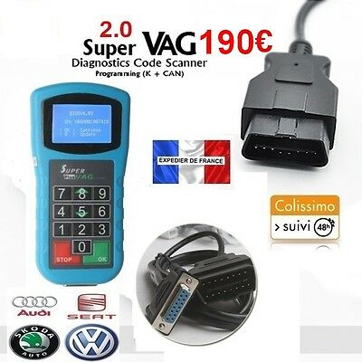 SUPER VAG K+CAN 2.0 - Diagnostique & Correction Kilométrique - TACHO DIGIPROG