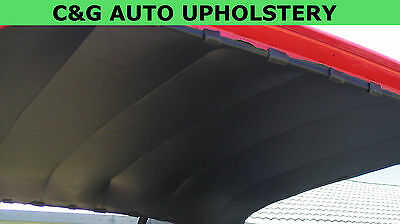 Ford cortina fits TC TD sedan NEW headlining BLACK vinyl ready to fit rooflining