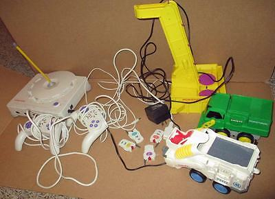 Rokenbok Base station 2 controllers 4 keys and 2 Vehicles Tested &Working