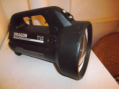 Dragon T12 Professional Portable Searchlight Ex Military Mod Emergency Services