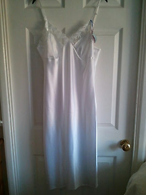 BNWT Ladies White Long-Line Petticoat Size 16 Marks & Spencer