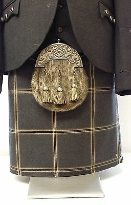 "Made 2 Measure "" Eternity "" 8 Yard Wool Kilt Only Made In Scotland Sale"