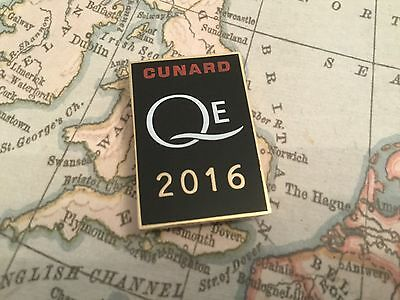 Cunard 2016 Salute Lapel Pin Limited Edition