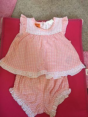 Baby Girl Pumpkin Patch Set Size 000 Brand New