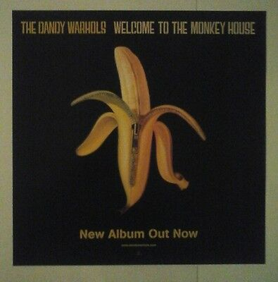 Dandy Warhols - Welcome To The Monkey House - Uk Poster Display Promo Flat Rare