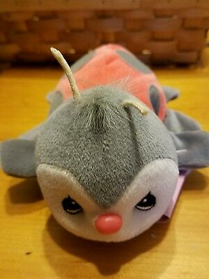 """Precious Moments Tender Tails Ladybug Plush - 6.5"""" - New With Tags - Ships Free"""