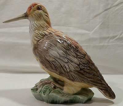 Hand Painted Ceramic Bird Figurine Made in Italy Numbered 36/47(?)