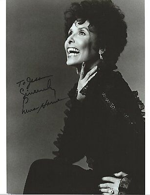 Lena Horne Autographed Photo