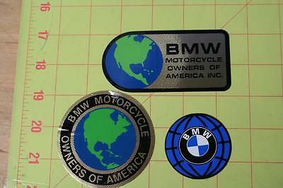 Vintage BMW Owners Of America Stickers Adhesive Decals