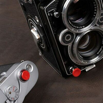 1Pcs Red Metal Soft Shutter Release Button for Fujifilm X100 SLR Camera AG