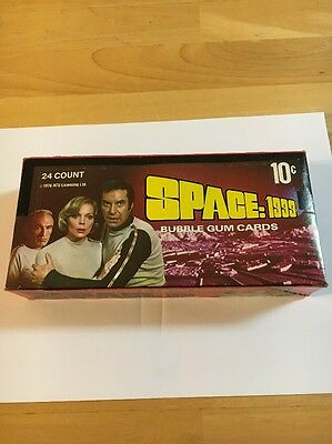 Space 1999  Wax Box