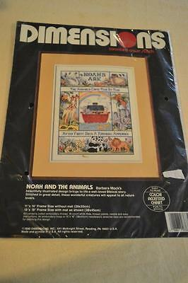 Counted Cross Stitch Embroidery Kit: Noah's Ark Wall Hanging FREEPOST IN AUST