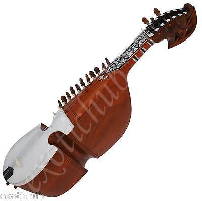 Rabab~Rebab~Rubab~Ruhbab~Designer Tun Wood~Hand Made~Full Size~Great Sound