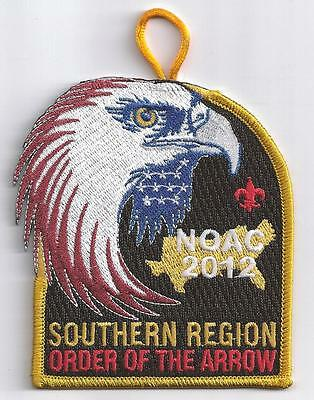2012 Noac  Southern Region Contingent Patch  Scarce