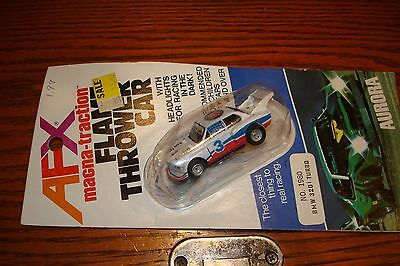 Aurora Afx Magna-Traction 1980 Bmw  320I Turbo Nos Carded