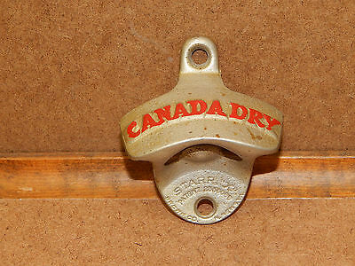 Vintage, The Starr X Canada Dry Stationary  Bottle Opener