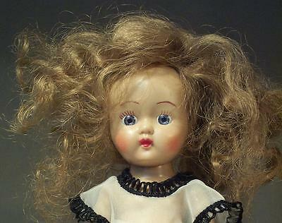 Early 50's Cosmopolitan Ginger Wide Eyed & Wild Haired High Color Painted Lash