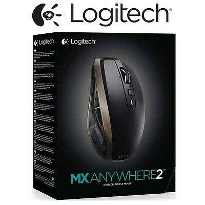 Wireless Mouse Logitech MX AnyWhere 2 PC Gaming Wireless Laser Mobile Mice NEW