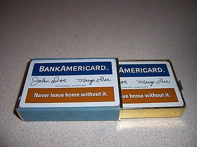 1950s VTG BANK AMERICARD PLAYING CARDS