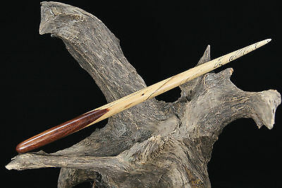 SPALTED Figured Tamarind Wood Wand – Wicca Magic Metaphysical Pagan Witch Wizard