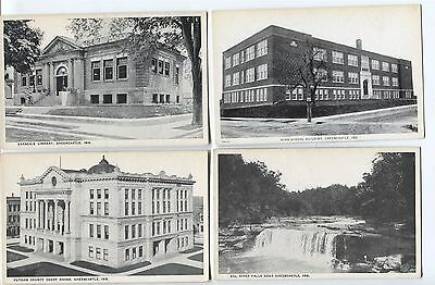 7 1918-1925 Greencastle  Indiana  Postcards  Really Nice Cards!