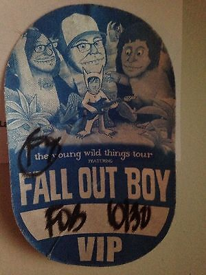 Fall Out Boy VIP Pass