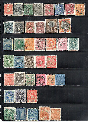collection of South American stamps