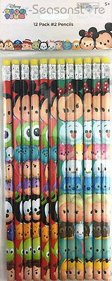 Disney Tsum Tsum 12 Pencils School stationary Supplies party favors gift