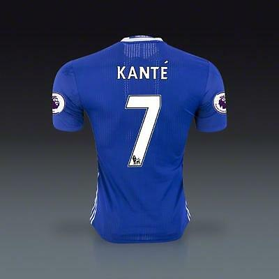 KANTE Chelsea Home Soccer jersey in Sz M